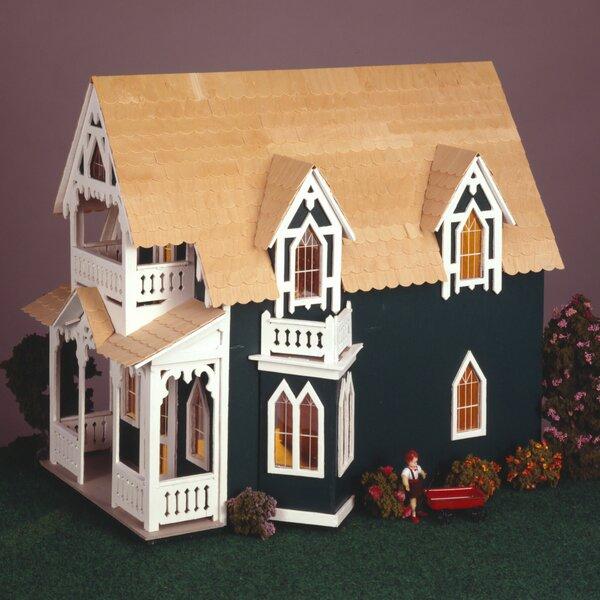 Vineyard Cottage Dollhouse By Greenleaf Dollhouses.