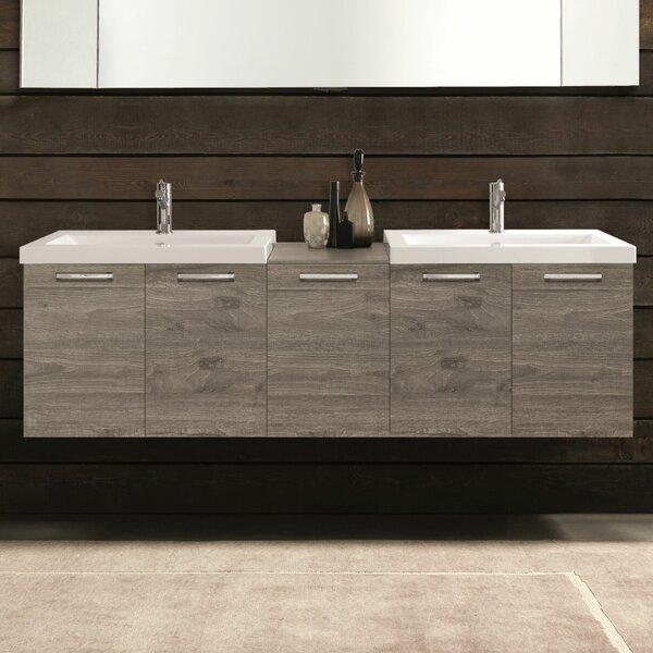 Deady 69 Double Modern Bathroom Vanity Set