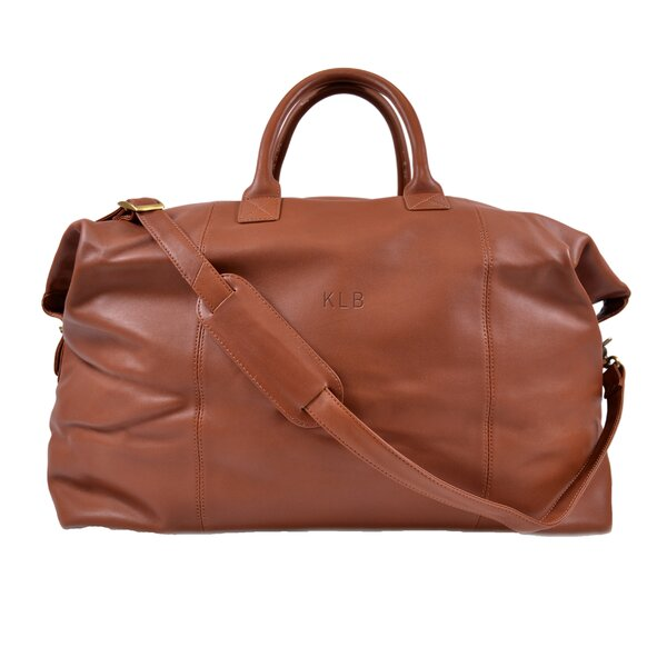 Harrison 10 Leather Duffle by Royce Leather