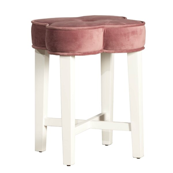 Greenbush Vanity Stool by Charlton Home