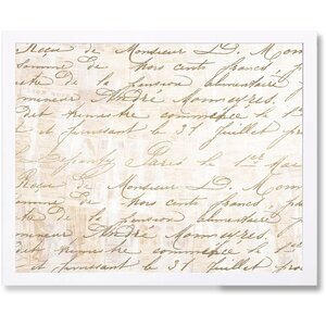 'Letters' Graphic Art Print by Lark Manor