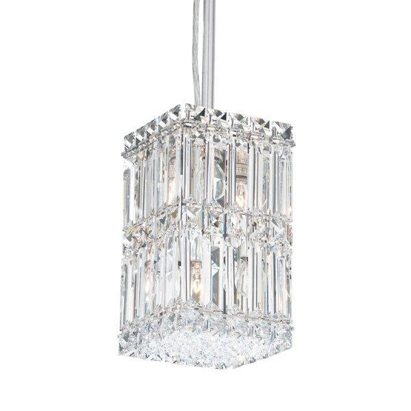 Quantum 2-Light Crystal Pendant by Schonbek