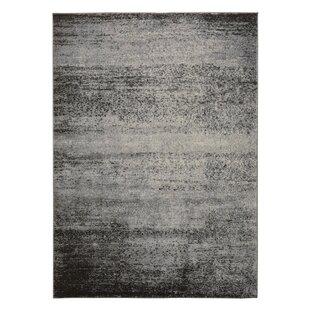 Best Price Fredrik Black/Gray Area Rug By17 Stories