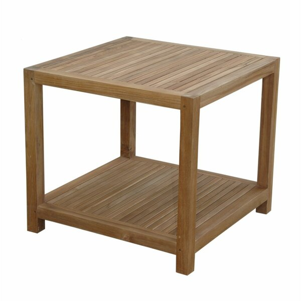 Glenmore Solid Wood Side Table by Anderson Teak