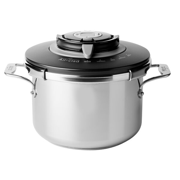 8-Qt. Precision Pressure Cooker by All-Clad