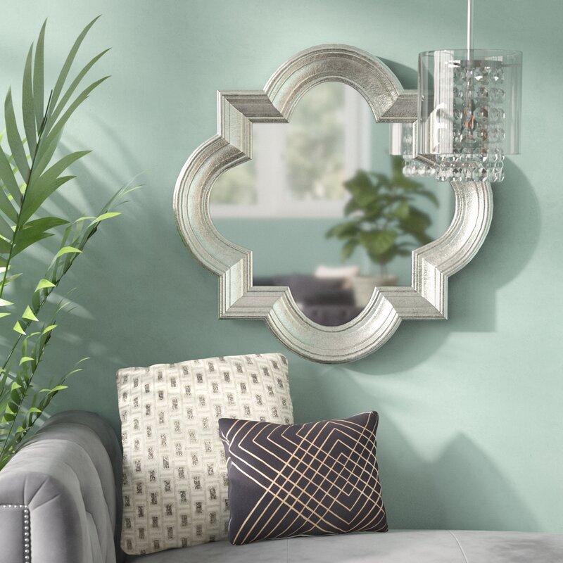 Willa Arlo Interiors Dhruv Modern Contemporary Accent Mirror Reviews Wayfair