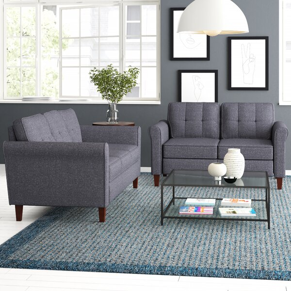 Peru 2 Piece Living Room Set by Zipcode Design