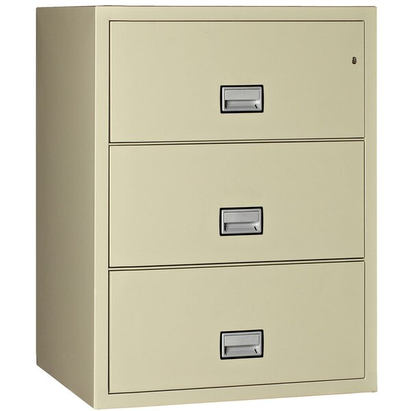 3-Drawer Lateral Filing Cabinet by Phoenix Safe International