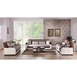 Edom 2 Piece Sleeper Living Room Set by Orren Ellis