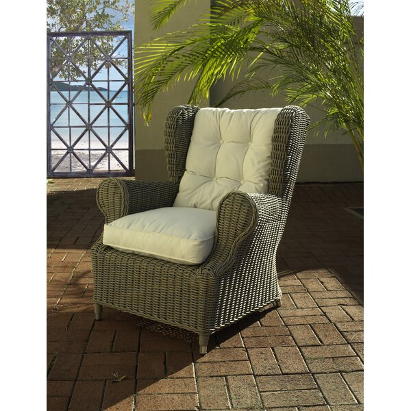 Outdoor Cottage Deep Seating Patio Chair with Cushion by Padmas Plantation Padmas Plantation