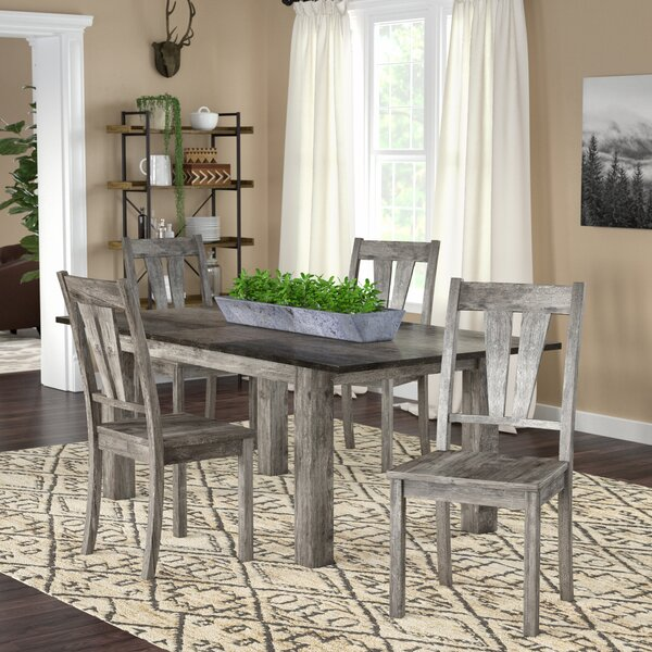 Sanda 5 Piece Dining Set by Union Rustic