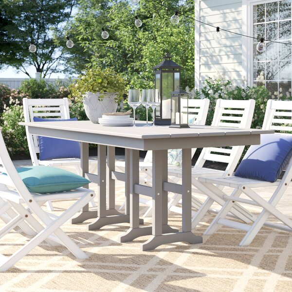Polywood® Traditional Dining Table by Sol 72 Outdoor