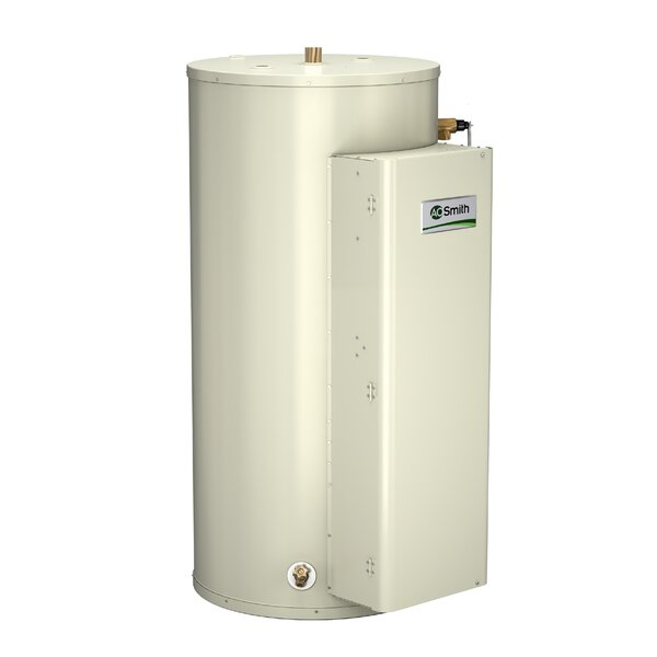 DRE-120-18 Commercial Tank Type Water Heater Electric 120 Gal Gold Series 18KW Input by A.O. Smith