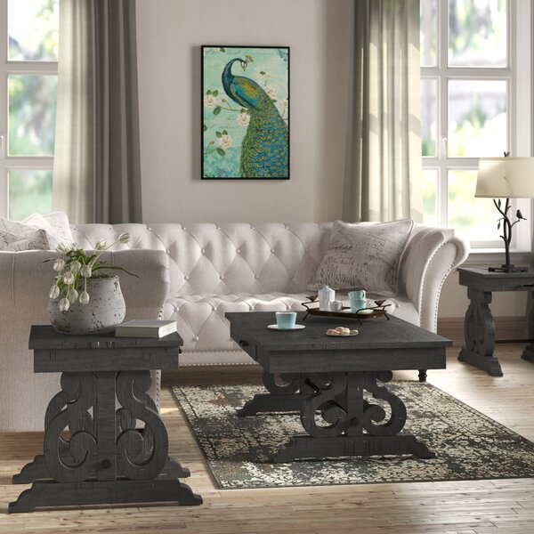 Inexpensive Kenworthy 3 Piece Coffee Table Set by Three Posts