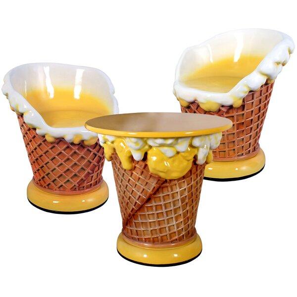 Ice Cream Plastic Bistro Table