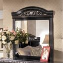 Park Mirror in Deep Glossy Black by Wildon Home ®
