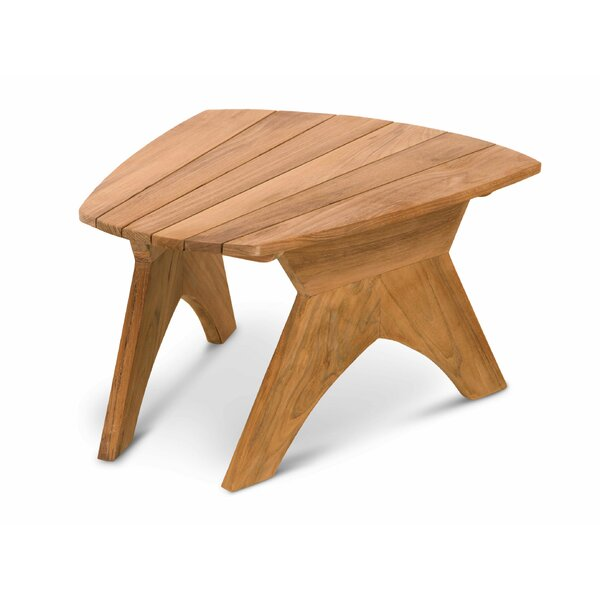 Ernie Solid Wood Side Table by Highland Dunes