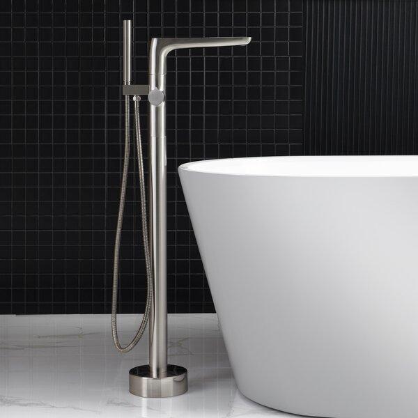 Single Floor Mounted Freestanding Tub Faucet By WoodBridge