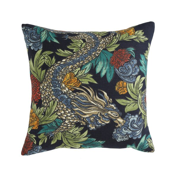 Ming Dragon Midnight Pillow by Mozaic Company