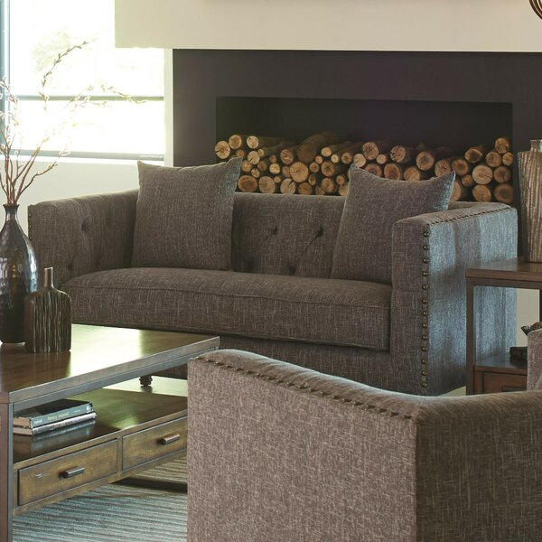 Trace Transitional Loveseat by Alcott Hill