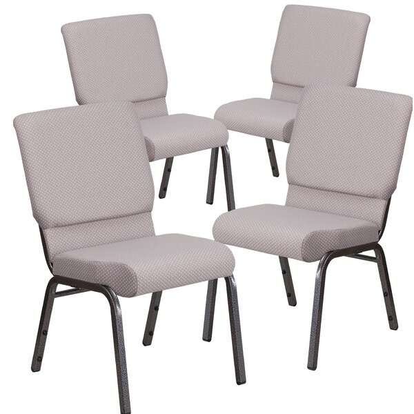 MacArthur Contemporary Upholstered Guest Chair (Set of 4) by Ebern Designs