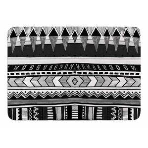 Black And White Tribal Rug Wayfair - Black and white tribal bath mat for bathroom decorating ideas