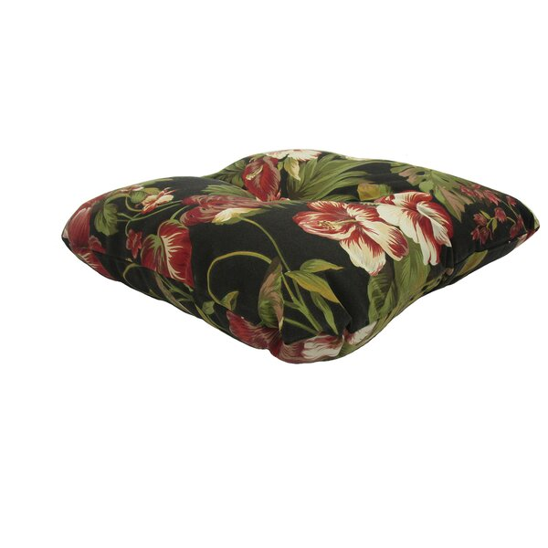 Paradise Wicker Indoor/Outdoor Dining Chair Cushion by Bay Isle Home
