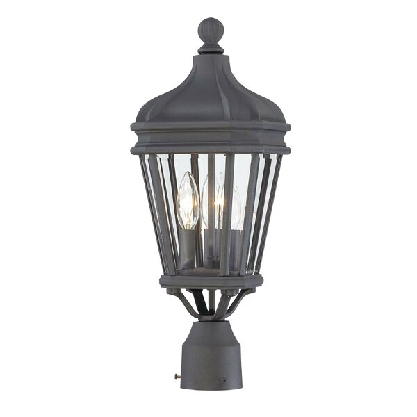 Harrison Outdoor 3-Light Lantern Head by Great Outdoors by Minka