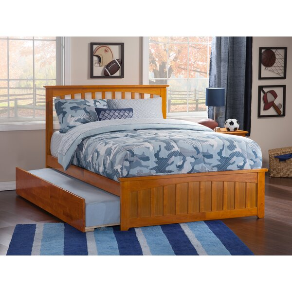 Katalina Full Platform Bed with Trundle by Grovelane Teen