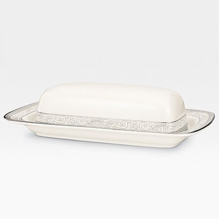Cirque Butter Dish by Noritake