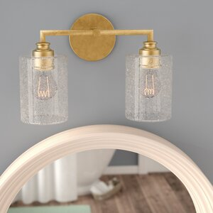 Tera 2-Light Vanity Light