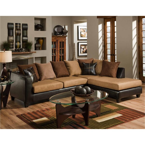 Dilorenzo Solid Wood Sectional by Latitude Run