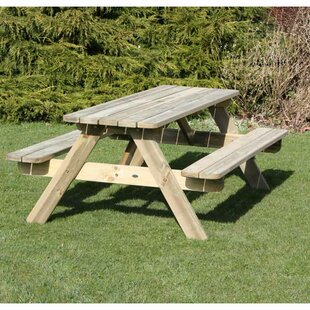 Picnic Benches Wayfaircouk - 6 sided picnic table