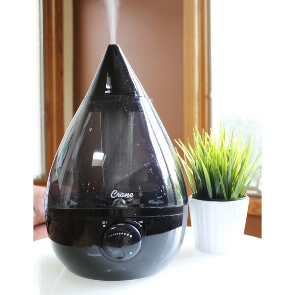 1 Gal. Cool Mist Ultrasonic Tabletop Humidifier by Crane USA