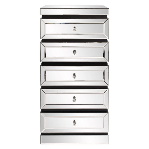 Rivas 5 Drawer Chest by Rosdorf Park