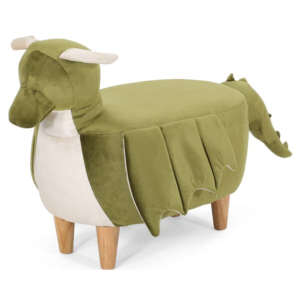 Fougere Dragon Ottoman by Isabelle & Max