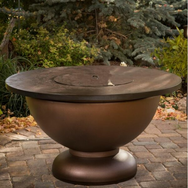 Penny Steel Natural Gas Fire Pit Table by CC Products