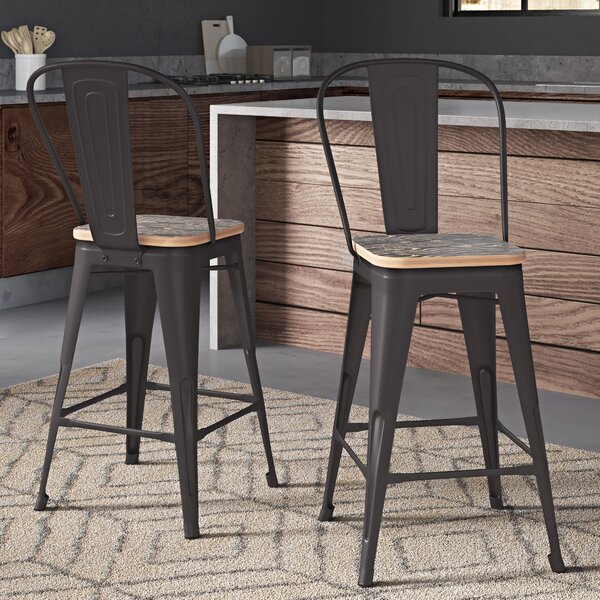 Superb Great Price Davisson 30 Bar Stools Set Of 4 By Hashtag Home Gmtry Best Dining Table And Chair Ideas Images Gmtryco
