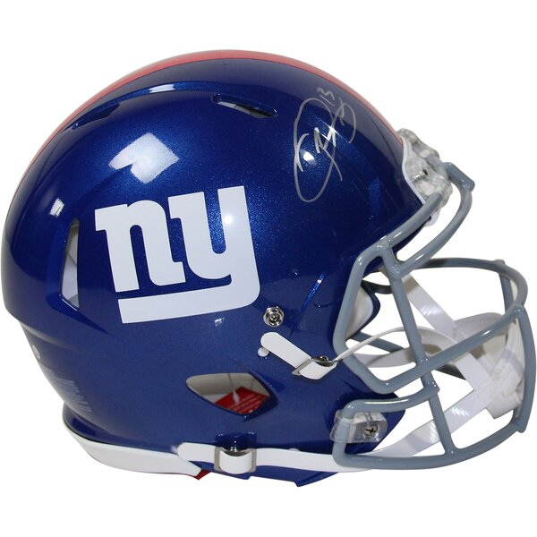 NFL Decorative Odell Beckham Jr. Signed New York Giants Speed Proline Helmet by Steiner Sports
