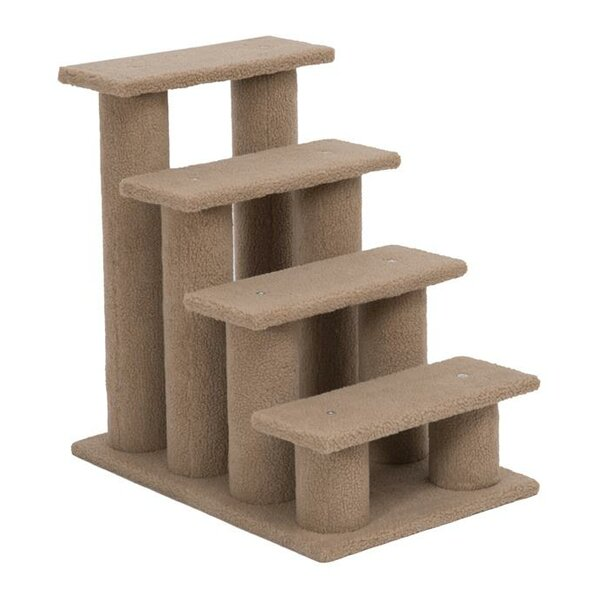 Basilton Four Step Cat Tree Stairway Cat Perch by
