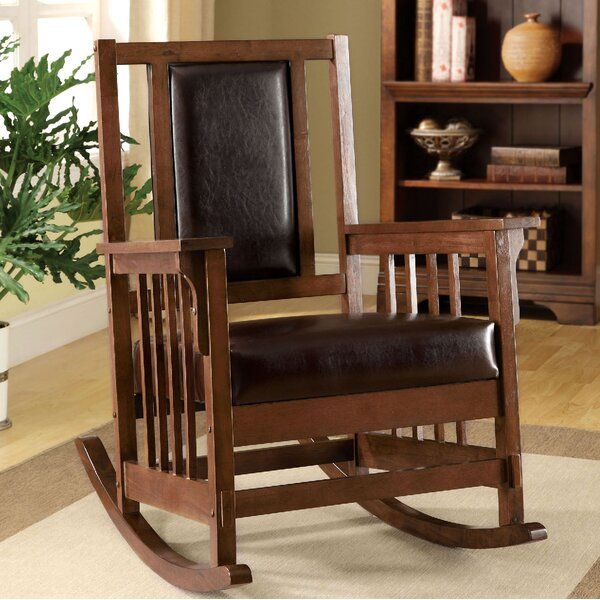 Hennis Rocking Chair by Loon Peak