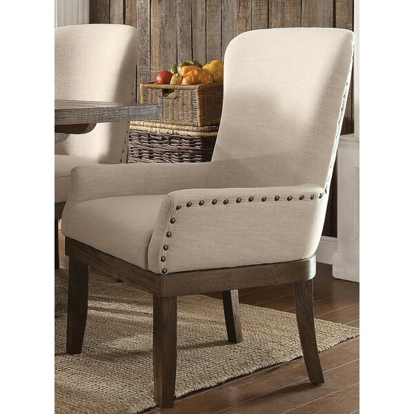 Loehr Upholstered Dining Chair by Canora Grey