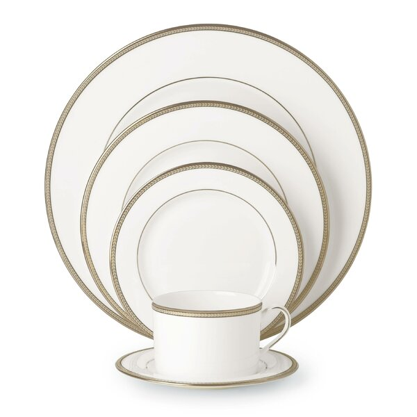 Sonora Knot Bone China 5 Piece Place Setting, Service for 1 by kate spade new york