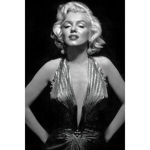 Radio Days 'The Iconic Marilyn Monroe' Photographic Print on Canvas by East Urban Home