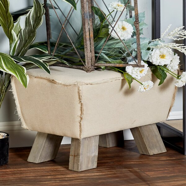 Carmela Cottage Ottoman by Union Rustic