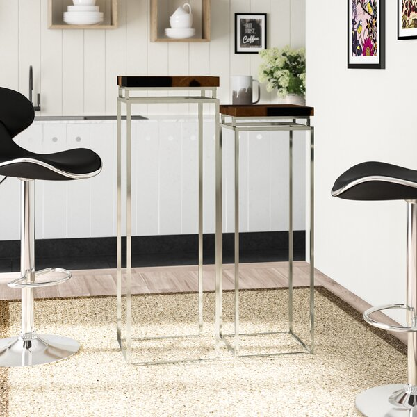 Pedestal 2 Piece Pub Table Set by Cole & Grey