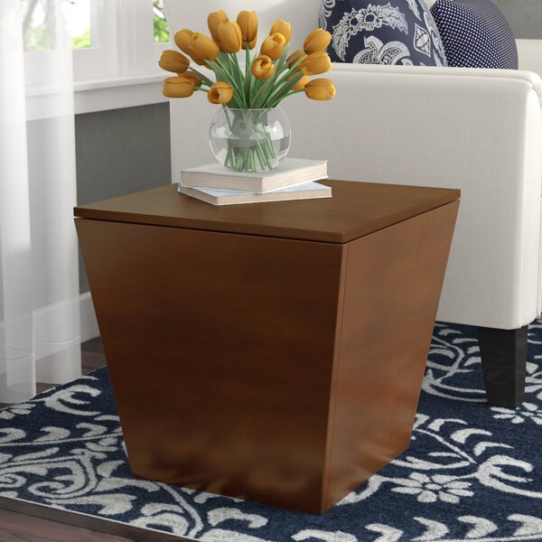 Quiles End Table With Storage By Andover Mills