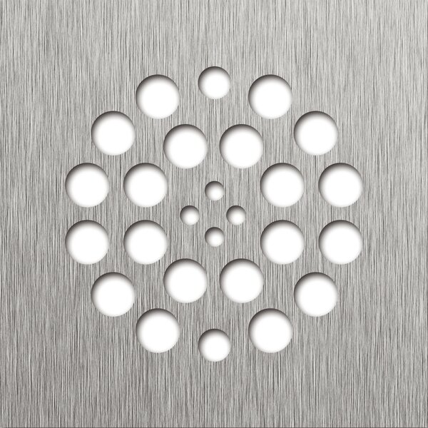 4.25 Grid Shower Drain by Tile Redi