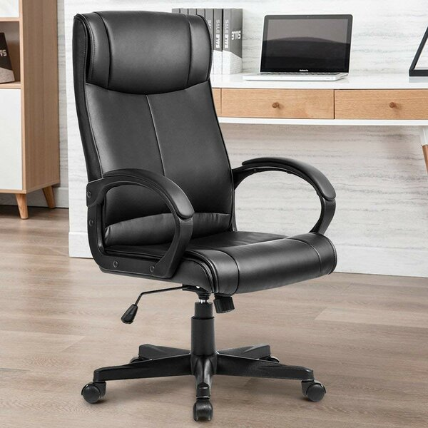 Allon High Back Executive Chair by Symple Stuff