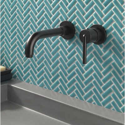 Faucet Wall Mounted Matte Black photo